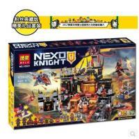 【玩具】正品博乐未来骑士团兼容乐高70323小丑的熔岩巢穴拼装积木10521