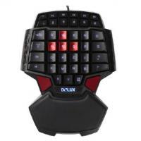 【键盘】多彩T9键盘有线游戏手游台式笔记本电竞枪神王座lol吃鸡单手键盘