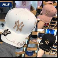 【帽子】韩国正品MLB专柜采购2018新款棒球帽鸭舌帽男女同款NY帽子小蜜蜂