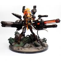 【手办】女大枪风暴骑兵 雕塑