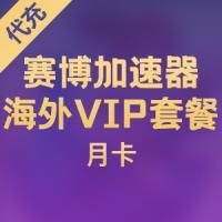 【代充】赛博加速器 海外VIP套餐 月卡